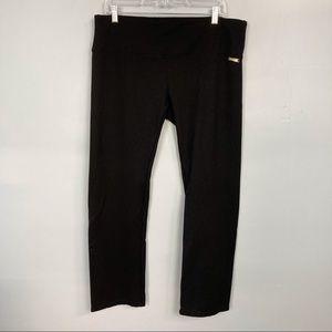 Calvin Klein Performance Black Pull On Knit Pants
